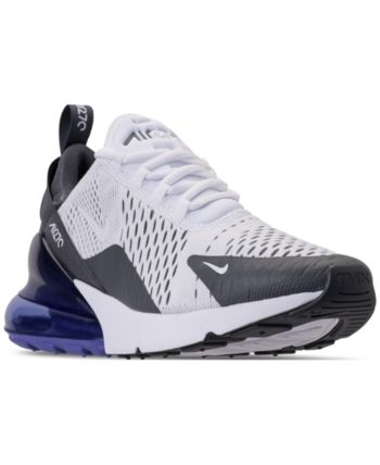 55422c783a Nike Men's Air Max 270 Casual Sneakers from Finish Line - White 10.5 ...