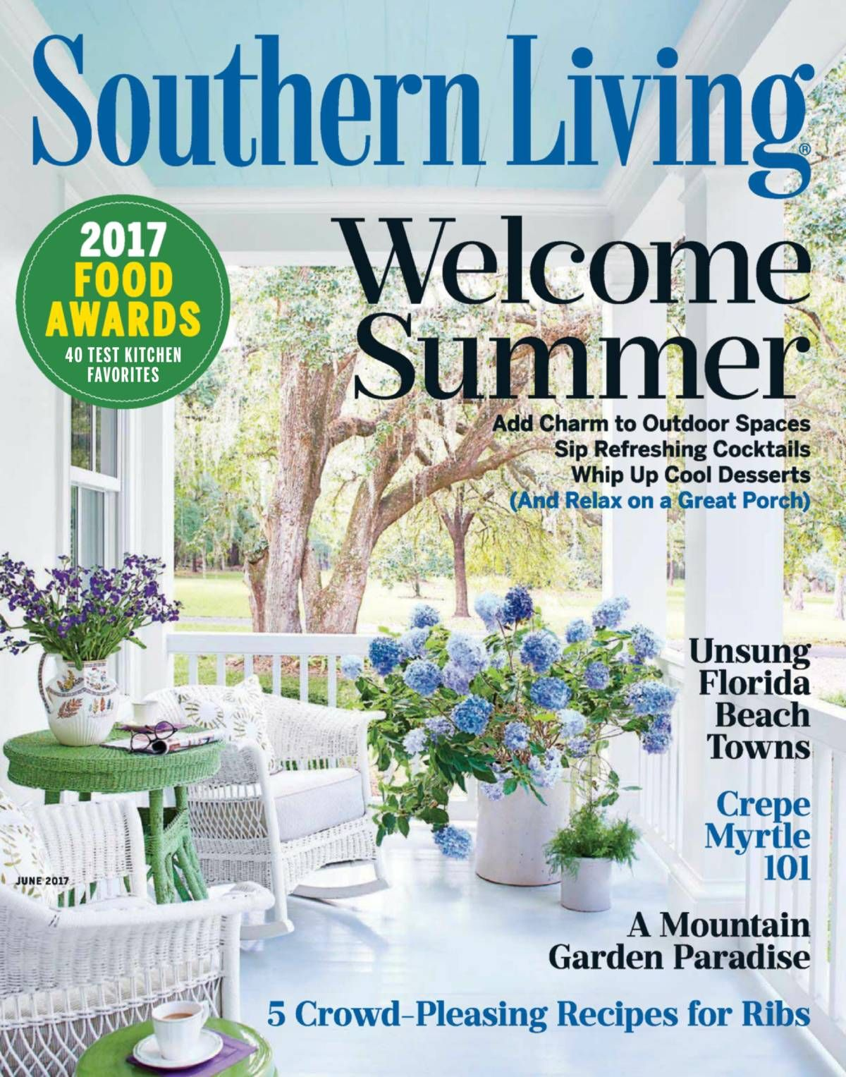 Free Download Southern Living #Magazine - June 2017. AN OPEN ...