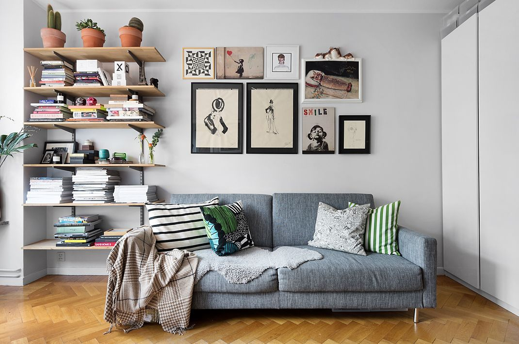 27 sqm charming apartment in Stockholm (Daily Dream Decor