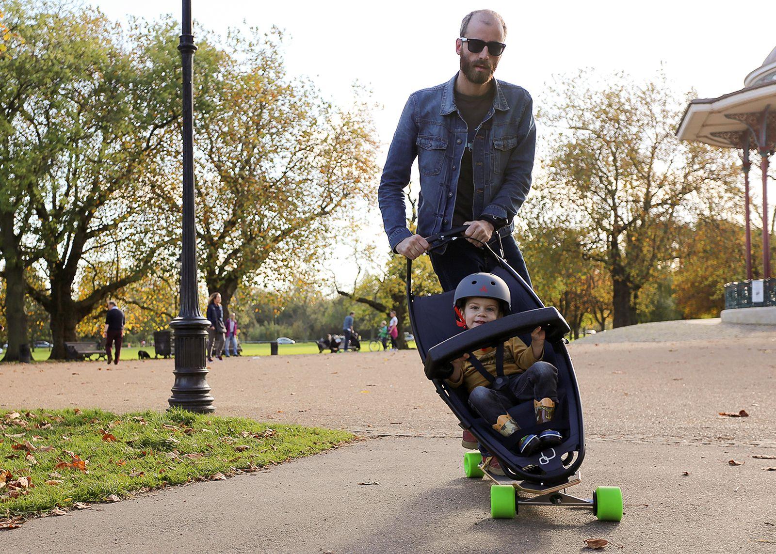 Ungewöhnlich Designer Kinderwagen Longboard Quinny Zeitgenössisch ...