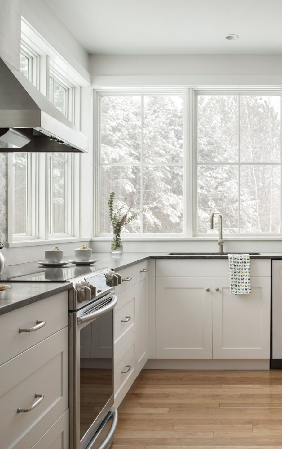 are your windows ready for winter the marvin windows in this modern farmhouse kitchen allow for on farmhouse kitchen window id=71153