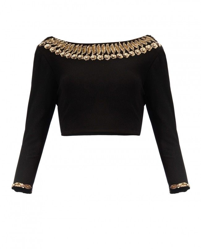 Black Gold Leaves Top - New Arrivals | SHOP NOW ON : http://bit.ly ...
