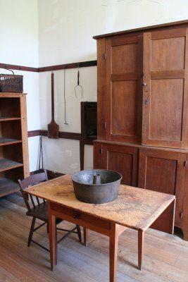 In the pantry pleasant hill shaker village decors 2 style shaker deco et meuble de style - Meuble shaker ...