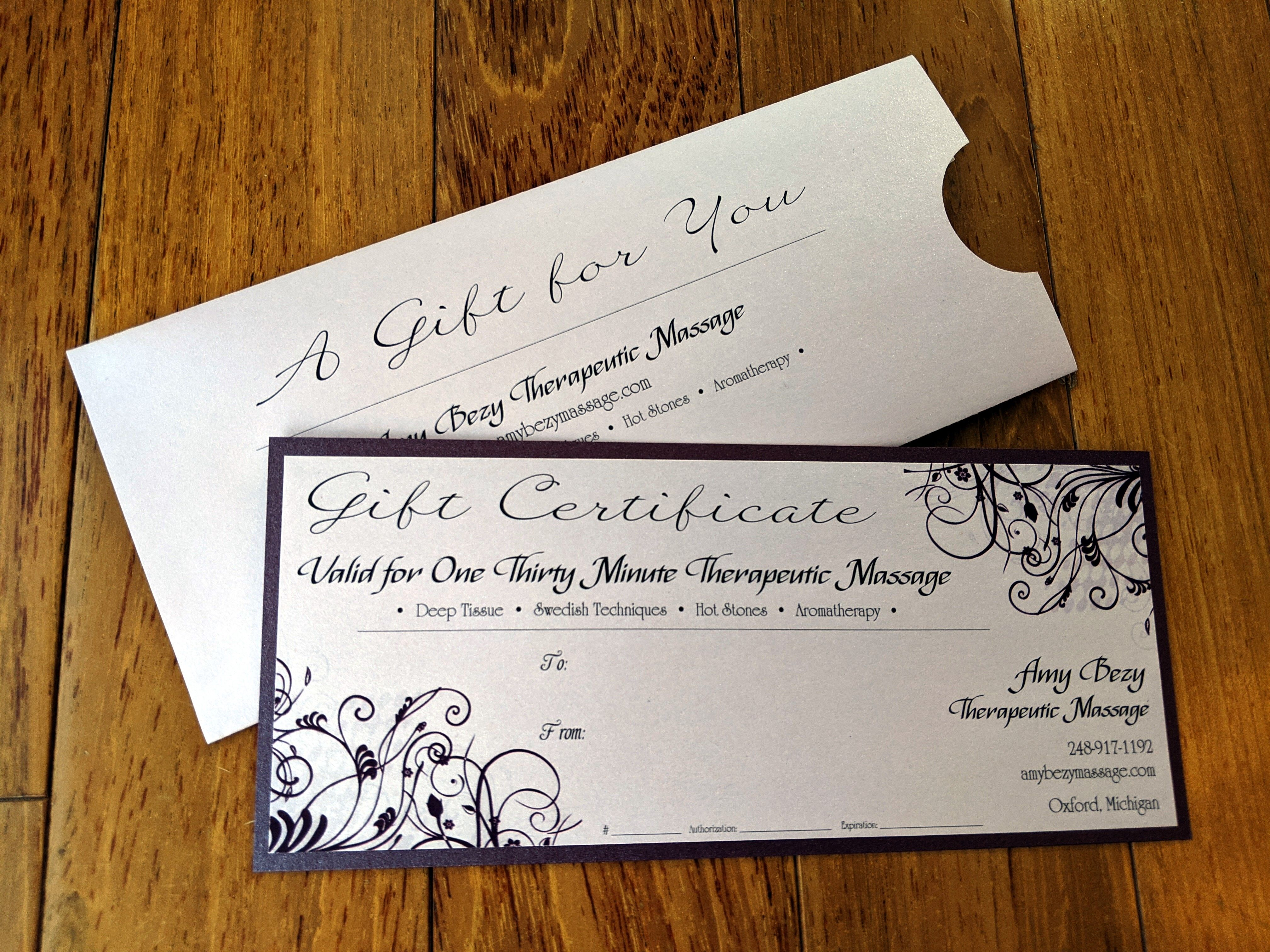 certificates certificate envelope customized gifts names programs