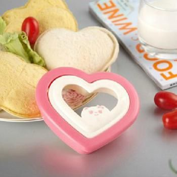 Novelty DIY Sandwich Mould Heart Toast Bread Love Mould