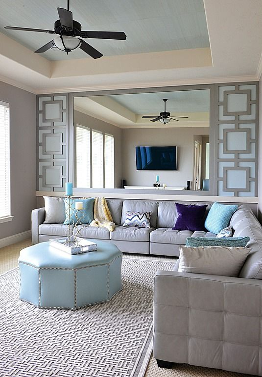 Modern Living Room  Found On Zillow Digs  Work Area  Pinterest Amusing Dining Room Mirrors Modern Decorating Design
