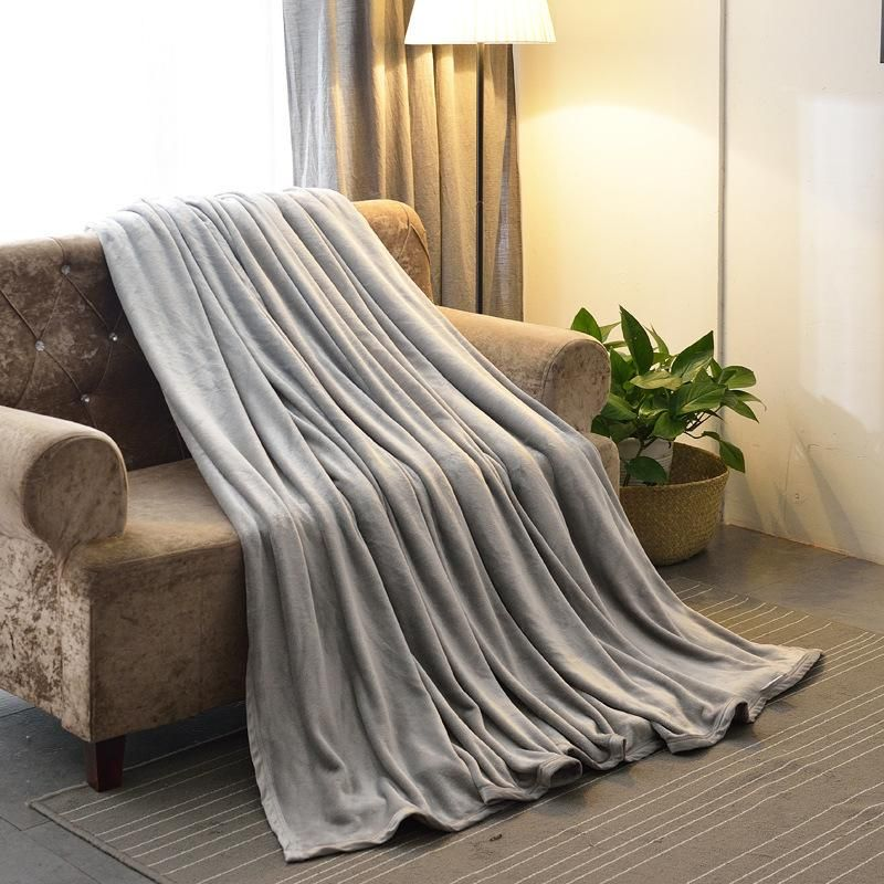 100 polyester sofa throws bestway inflatable review buy 1pc throw blanket for adult soft plush fleece thicker blankets on