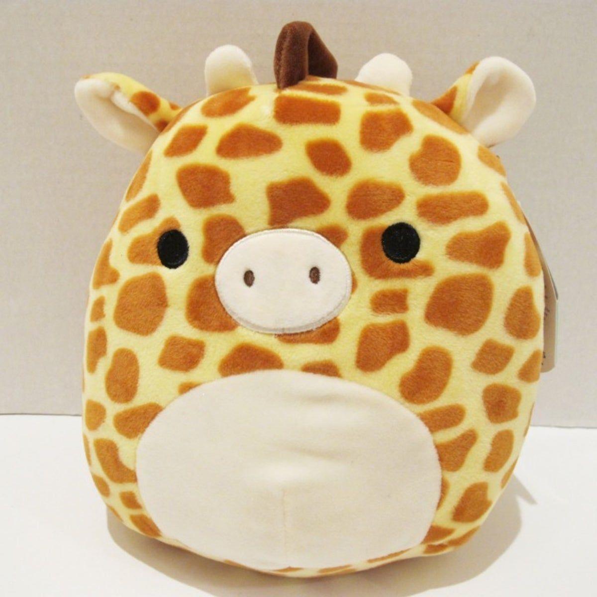 Squishmallows Giraffe Gary Nwt Animal Pillows Cute Stuffed Animals Cute Plush