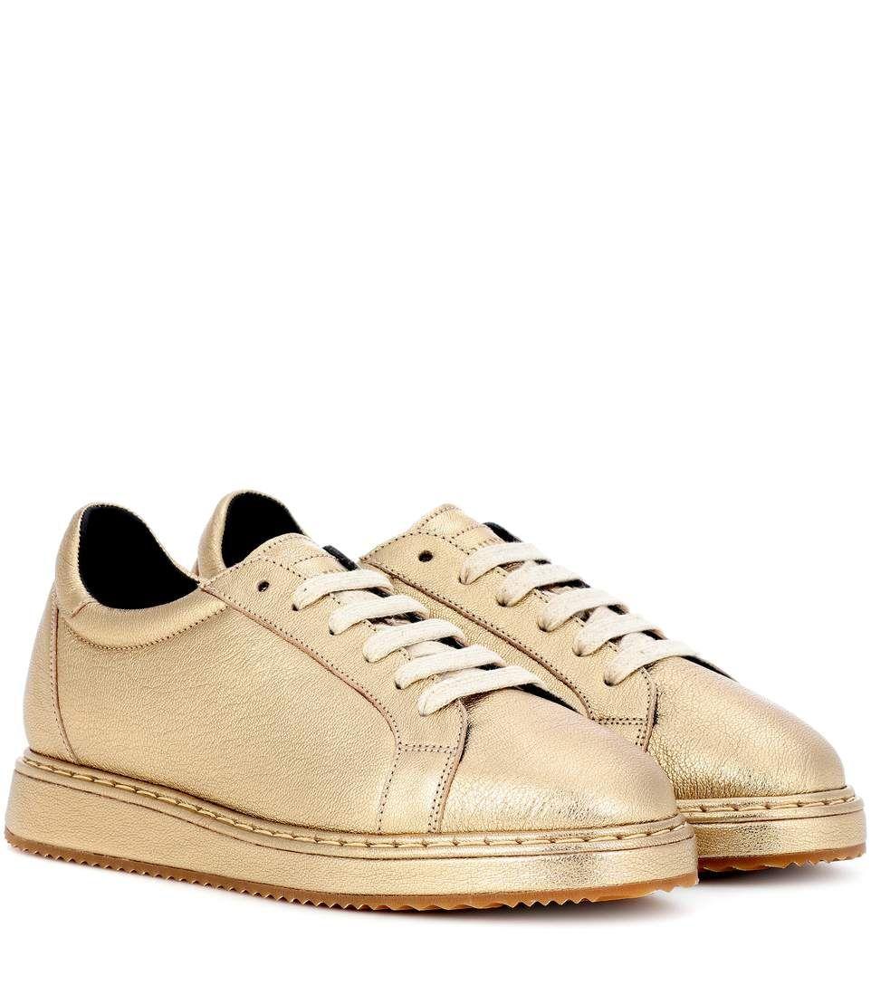 Golden sneaker Brunello Cucinelli By7SdK2O