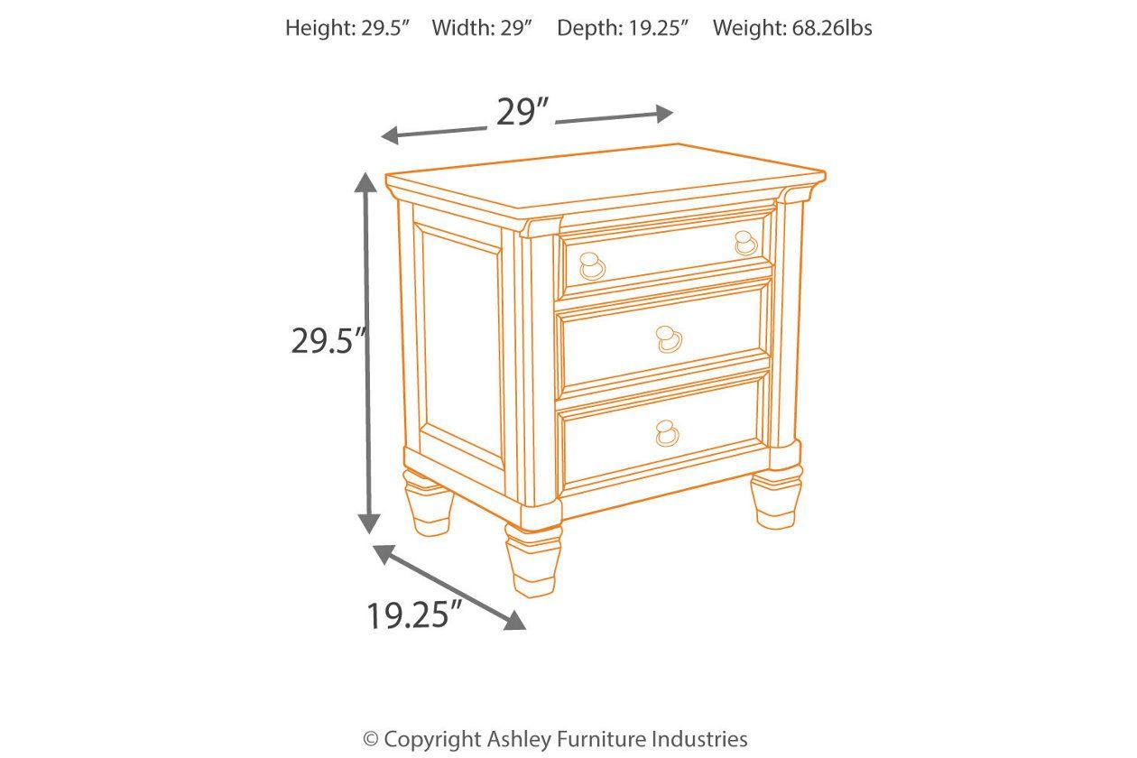 Best Prentice Nightstand Ashley Furniture Nightstand Ashley 640 x 480