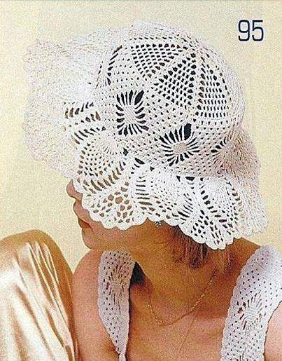 Patrón #1013: Sombrero a Ganchillo | CTejidas [Crochet y Dos Agujas ...