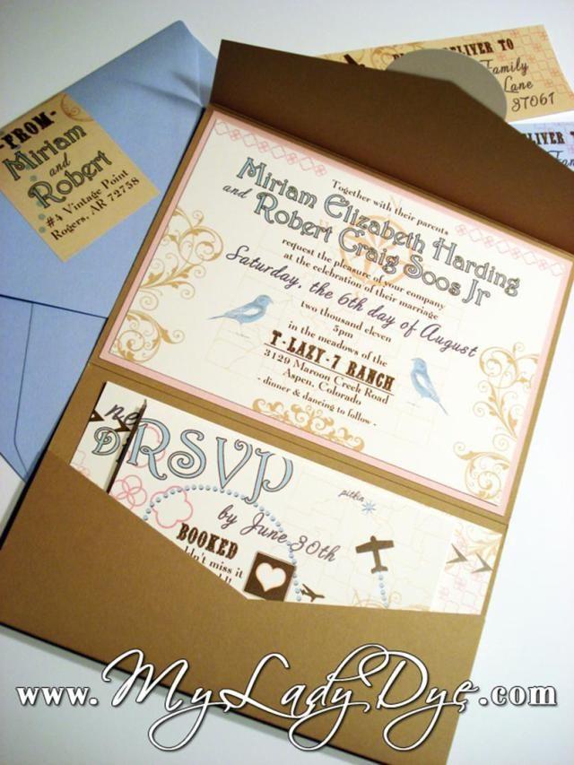 30 Gorgeous Rustic Vintage Wedding Invitations | Vintage wedding ...