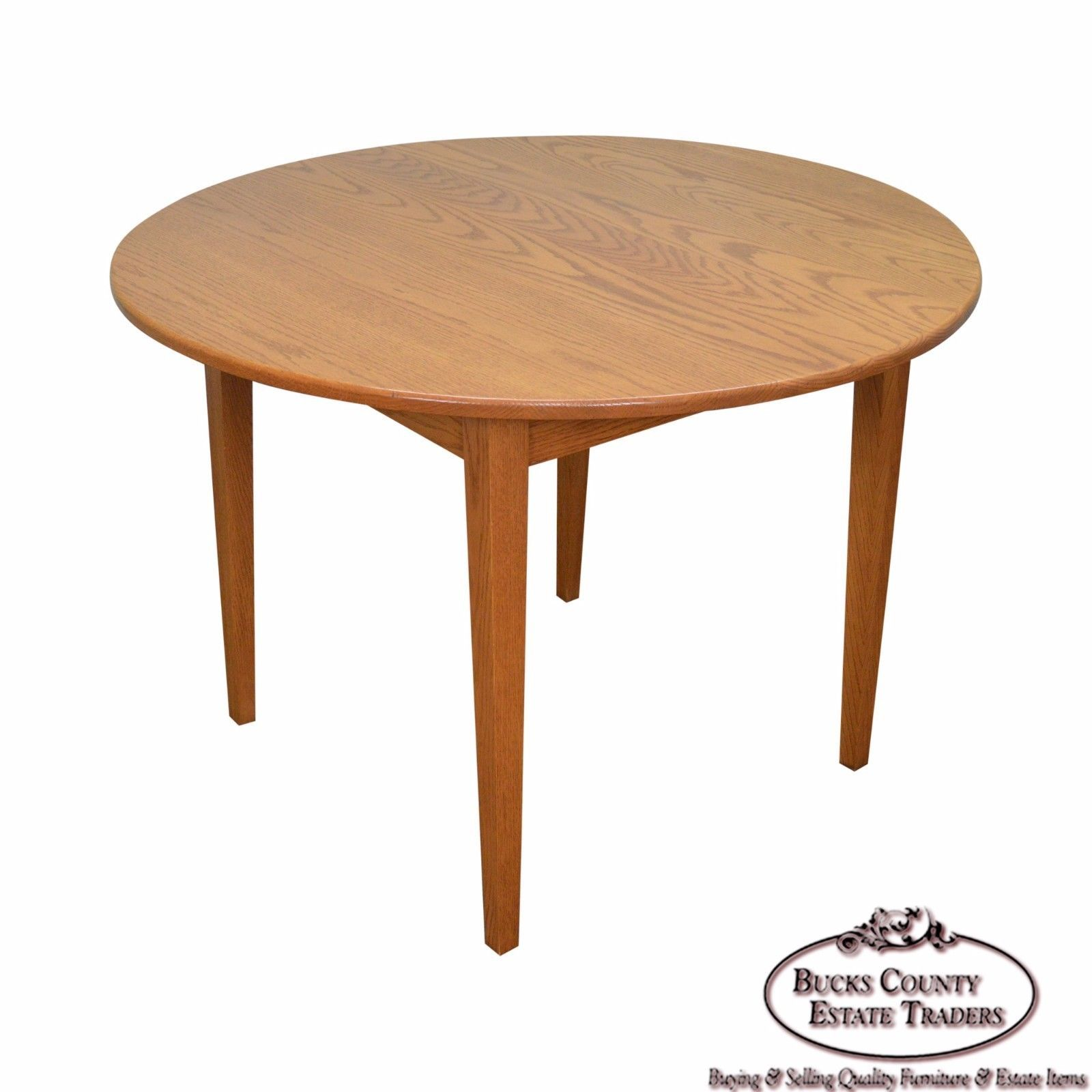 Hunt Country Furniture Solid Oak Round Dining Table H O M E