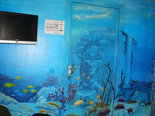 Our Second Themed Room Underwater Ocean Decor Room Themes Underwater Room