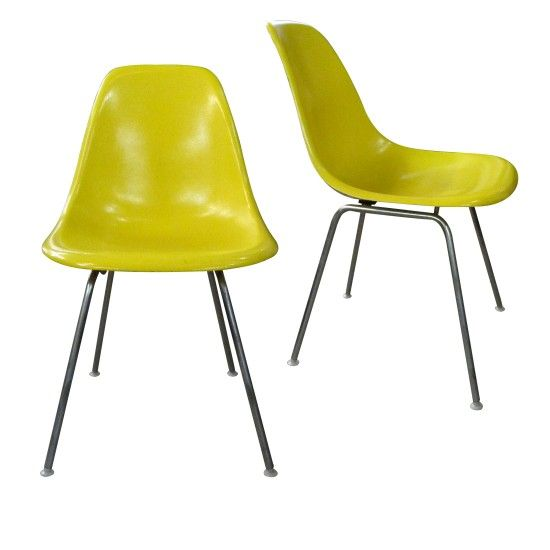 2 chaises Eames DSX pour Herman Miller (1960/70)  sc 1 st  Pinterest : herman miller chaise - Sectionals, Sofas & Couches