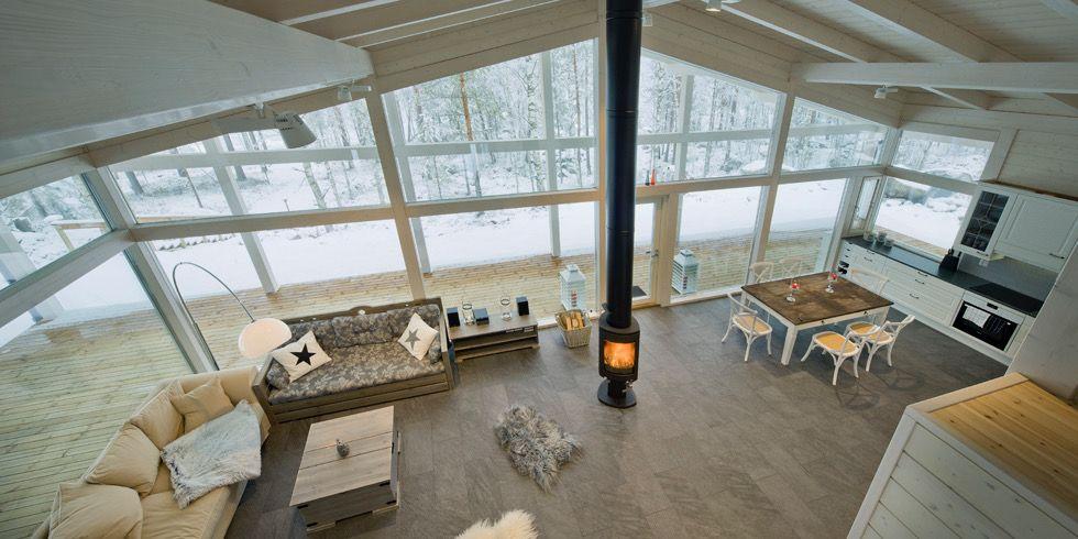 Finnhouse schuurwoning- bouwen.nl Vide in Finse woning | Alpine ...
