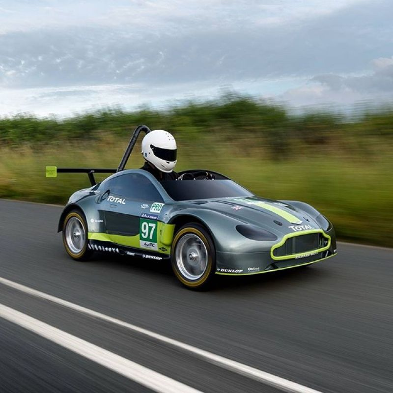 Aston Martin Reveals Its Amazing AMR-SB Race Car! (With