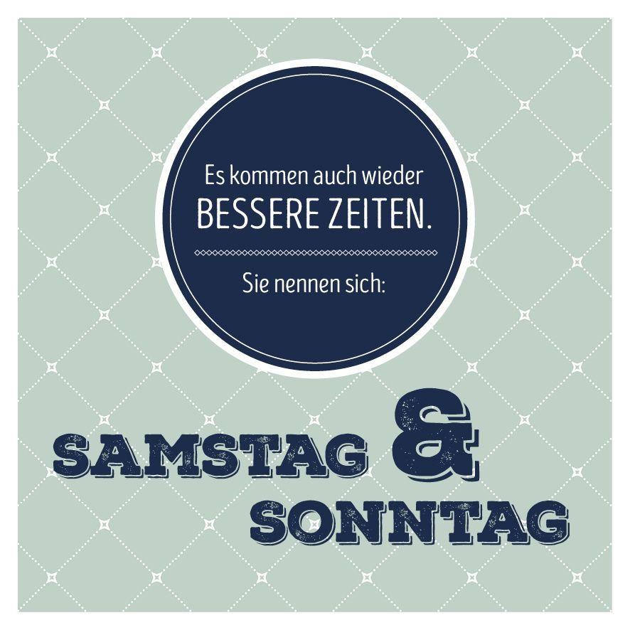 Spruch Sonntag Lustig