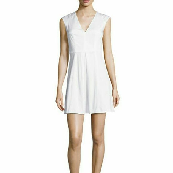 ad7ee055fe7 NWT French Connection V-Neck White Dress NWT French Connection V-neck white  sleeveless