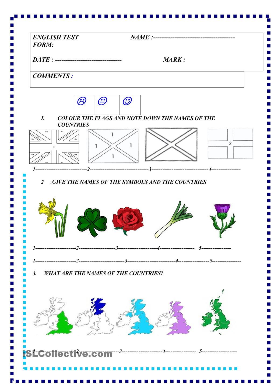 English speaking countries : test   Around the World   Pinterest ...