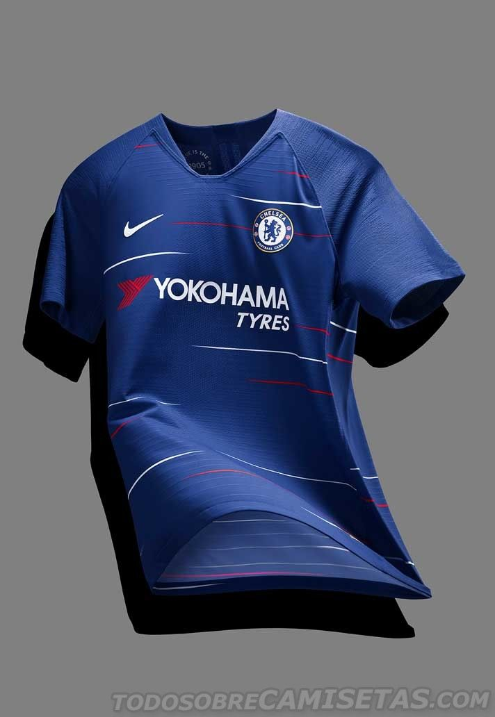 Chelsea 2018 19 Nike Home Kit - Todo Sobre Camisetas  4d432d27a5f10