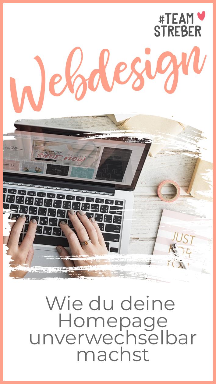 Wie Du Deine Homepage Unverwechselbar Machst Webdesign