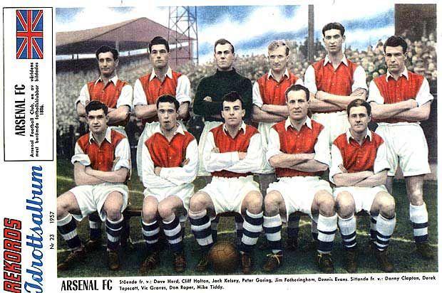 Arsenal Football Club, en av vنrldens  mest berِmda fotbollsklubbar bildades 1886.  - klicka fِr stِrre format