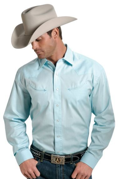 fed46818724 Stetson Solid Twill Snap Oxford Shirt available at  Sheplers ...