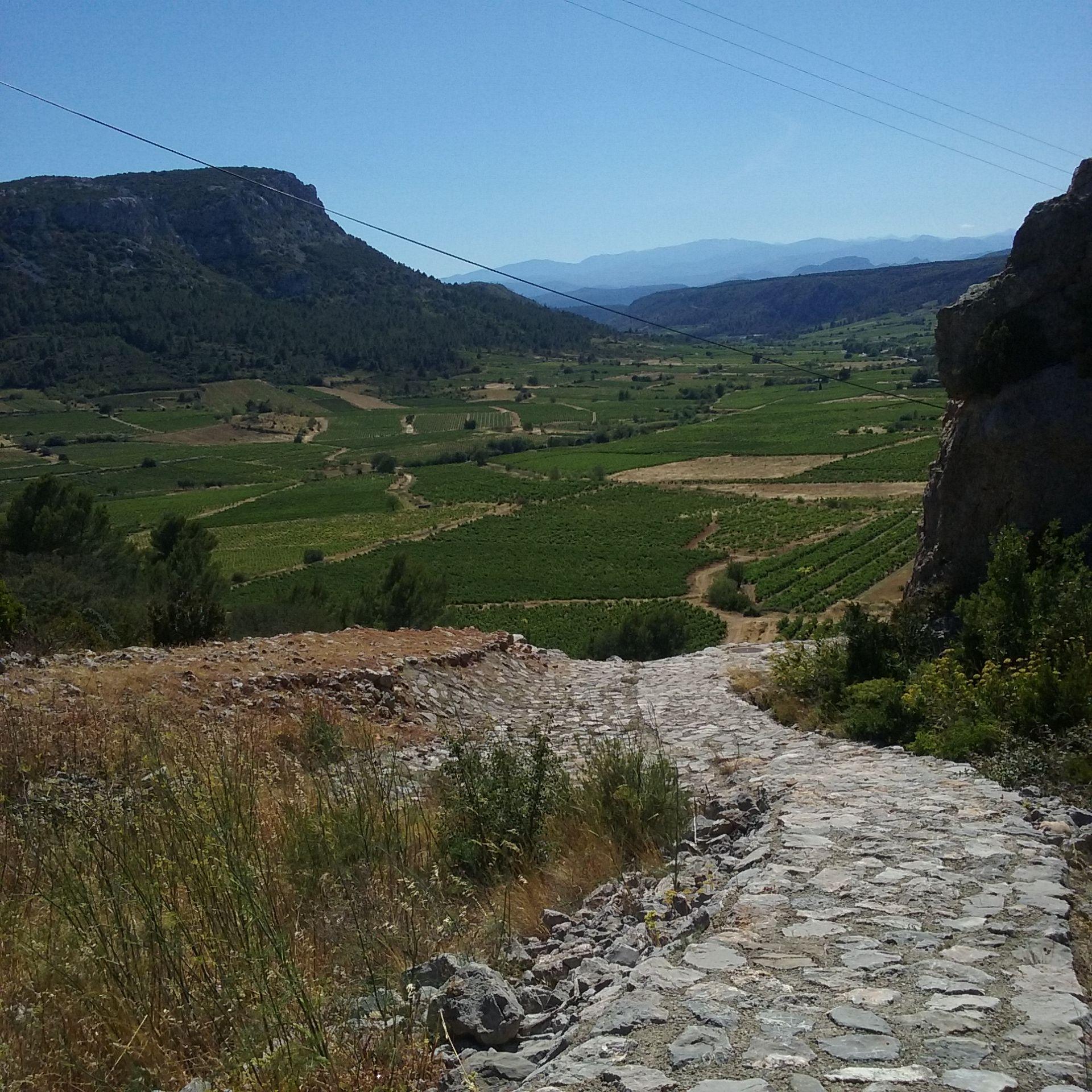 Voie romaine vingrau chemin ou voie antique - Office de tourisme pyrenees orientales ...