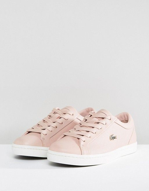 36fcf6184f Lacoste Straightset 118 2 In Dusky Pink | Shoes | Lacoste shoes ...