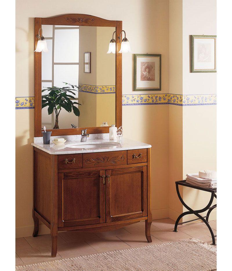 Italienische möbel Badmöbel für Badezimmer mit Zeta