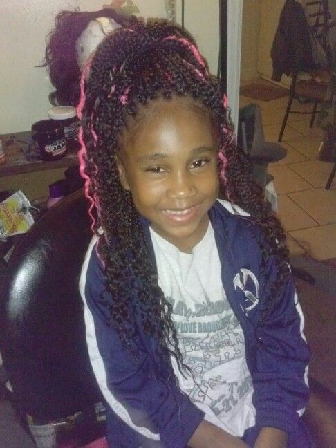 Kids box braids