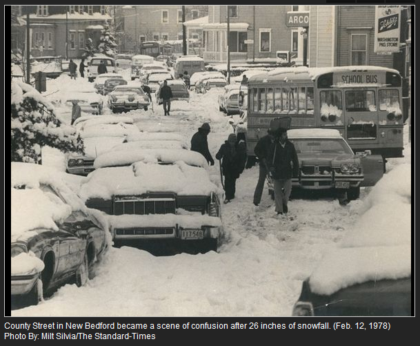 Stupendous Blizzard Of 1978 Westislandweather Com New Bedford Feb Home Interior And Landscaping Ponolsignezvosmurscom