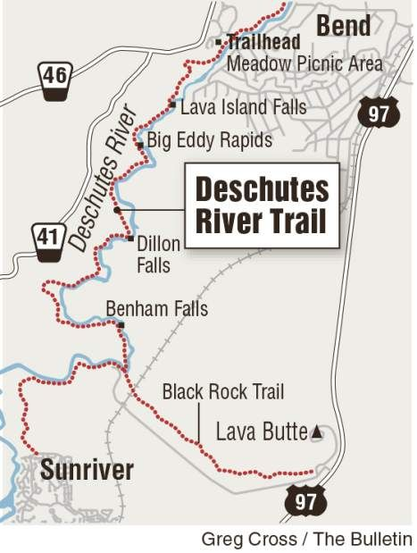 Biking the Deschutes River Trail | Sunriver oregon, River ... on central oregon, sunriver village oregon, map of sunriver village, water park sunriver resort oregon, printable maps of oregon, weather sunriver oregon, map of sunriver properties,