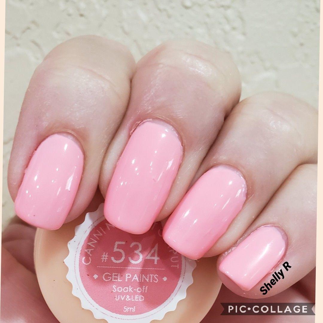 Canni Gel 534 08 29 19 Mixed Color With Ur Sugar Base Trugel Base And Gelaze Top Venalisagel Cannigel Easy Remov My Nails Nail Polish Addict Nail Polish