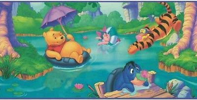 Disney WinniethePooh Swimming Party Eeyore Piglet