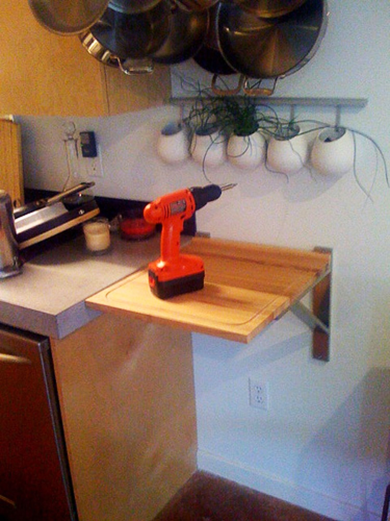 DIY Countertop Cutting Board Extension. Interesting Kitchen ...