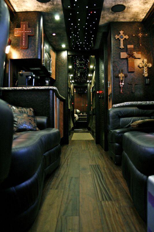 Band Tour Bus Interior Diamond Coach