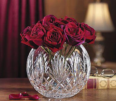 Waterford Master Artisan Rose Bowl Waterford Crystal Crystal Rose Rose Vase