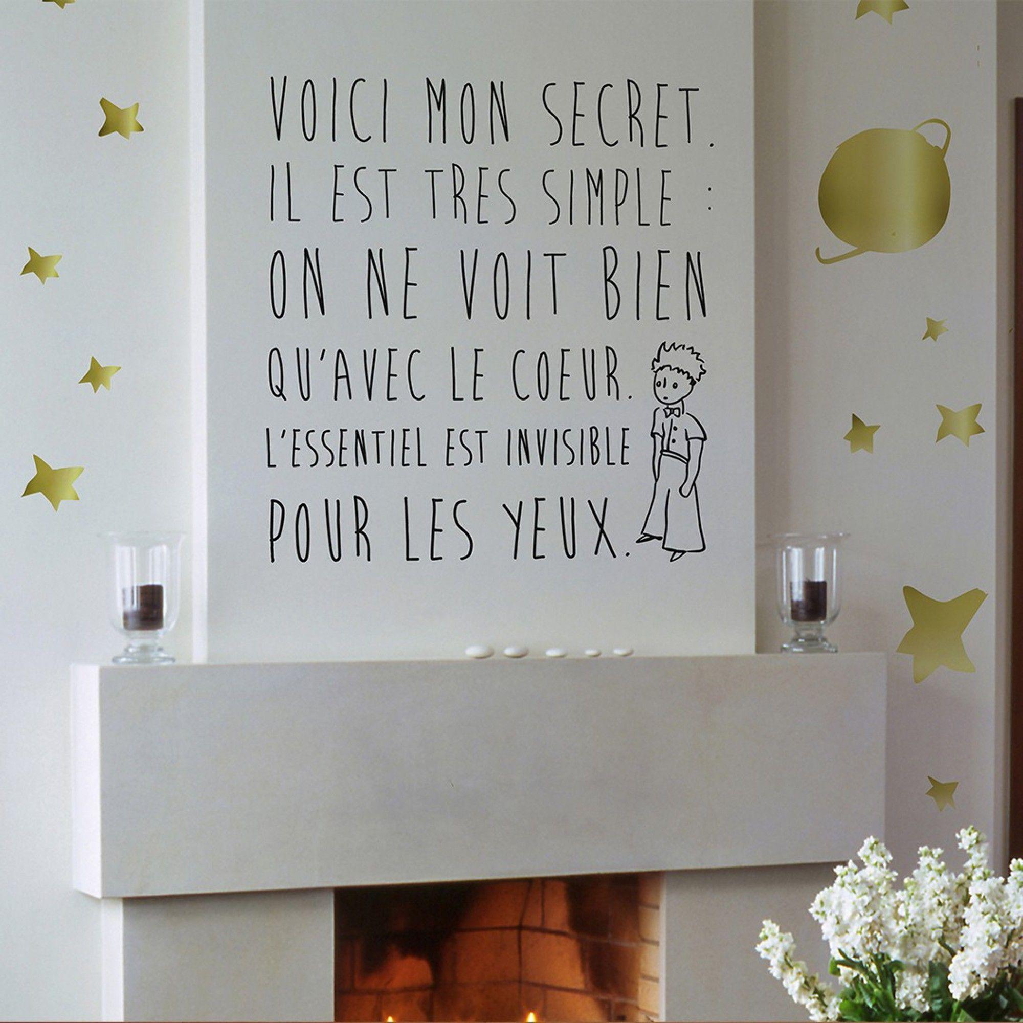 Le Secret Stickers Le Petit Prince Chambre Enfant Jpg 2000 2000