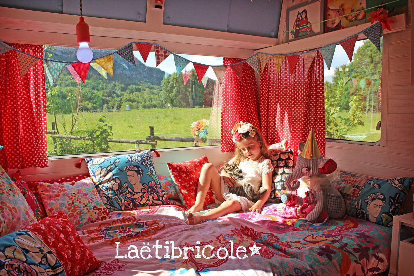 la vie de boh me laetibricole my girls bedroom pinterest caravane laetibricole et. Black Bedroom Furniture Sets. Home Design Ideas