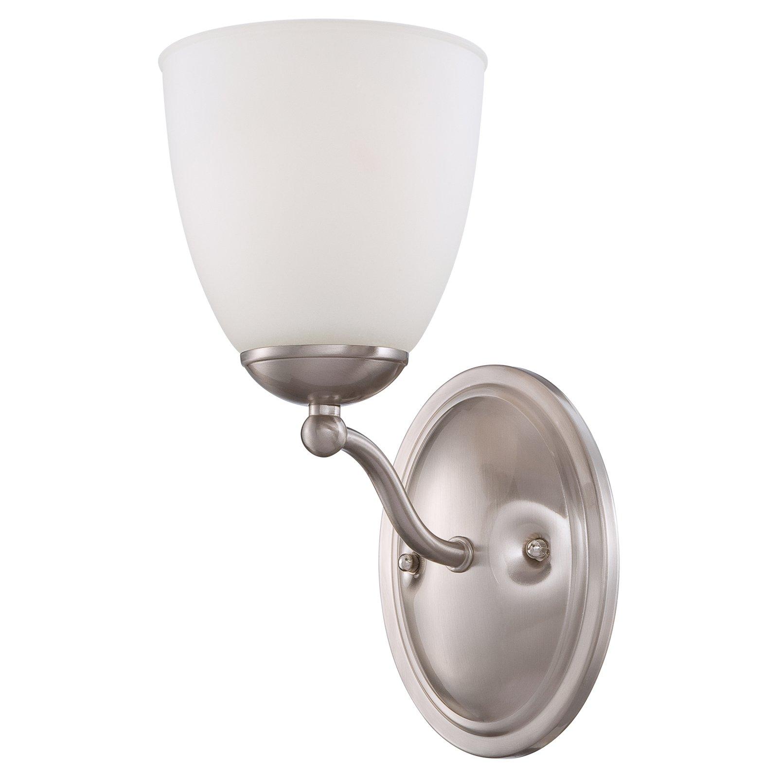 Photo of Nuvo 60/5 Patton 1 Light Bathroom Vanity Light Prairie Bronze