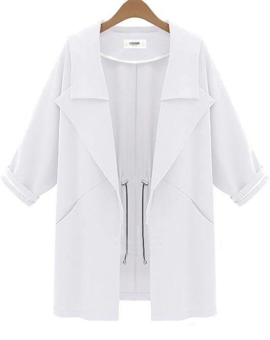 Abrigos color blanco