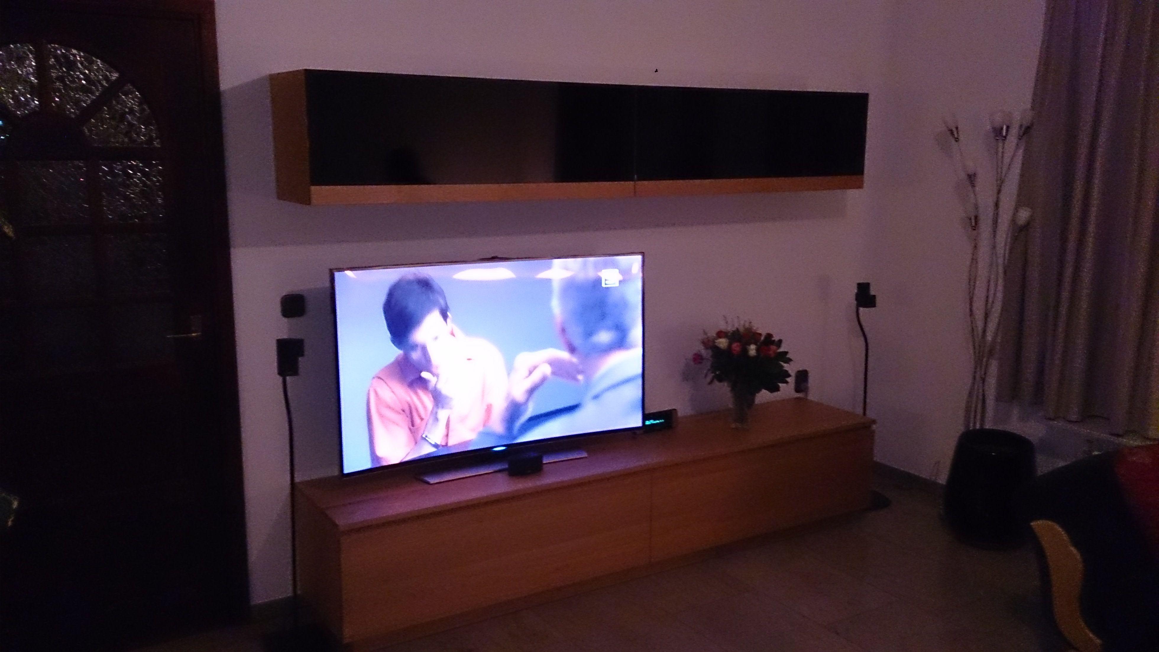 Kersen Houten Tv Kast.Kersenhouten Tv Wandmeubel Tv Meubel Op Maat Meubelen Op