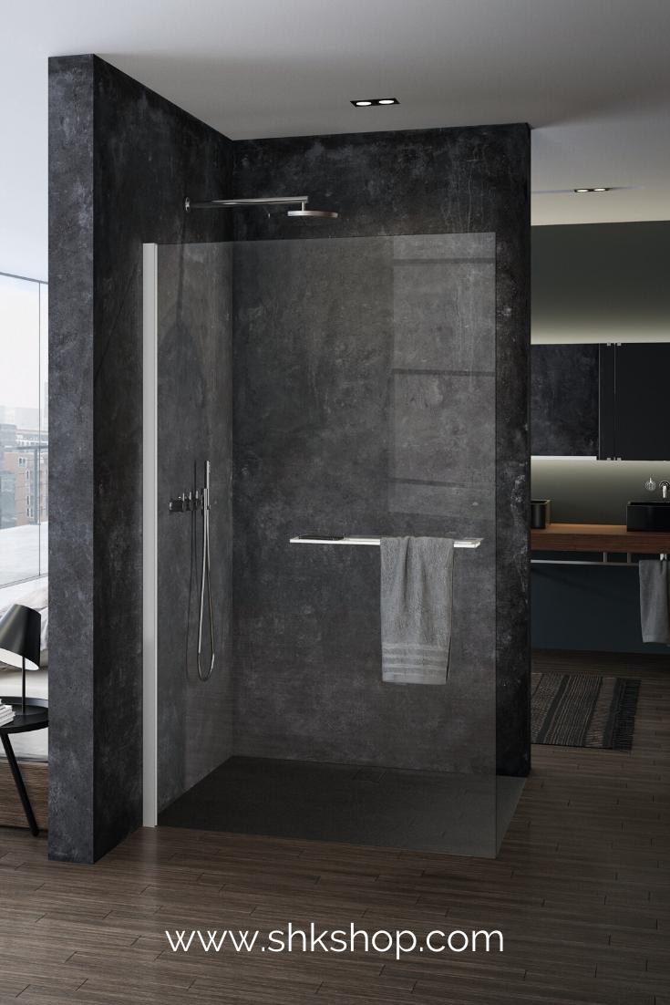 H Ppe Select Seitenwand Alleinstehend 6mm Glasst Rke Breite 110cm Anschlag Links Rechts In 2020 Badezimmer Schwarz Dusche Badezimmer Trends