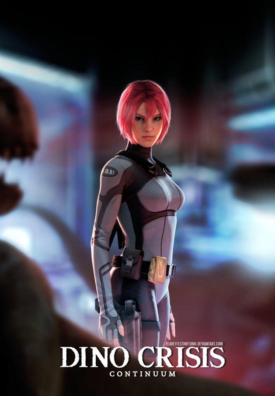 Dino Crisis Continuum By Feareffectinferno Dino Crisis Video Games Girls Dinos