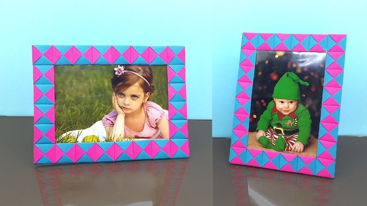 Paper Photo Frame How To Make Easy Diy Paper Crafts Handmade