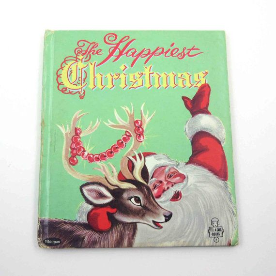 The Happiest Christmas Vintage 1950s by grandmothersattic on Etsy