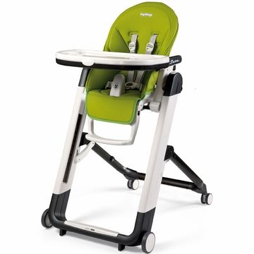 Peg Perego Siesta High Chair Mela Apple Green Only 299 99 Also Comes In Orange Best High Chairs Peg Perego Baby High Chair