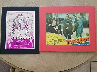 PAINCORP SPECIAL:  Yokel Boy set of 2 Lobby Card & Poster for Josyo-44